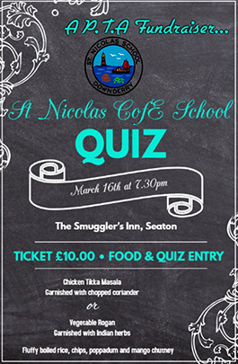 Adults Quiz poster past event