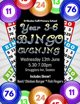 Bingo Evening past event