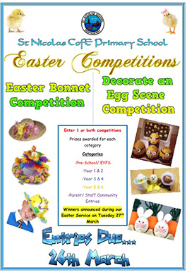 Easter 2018 competition past event
