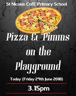 Pizza & Pimms past event