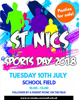 Sports Day Poster past event